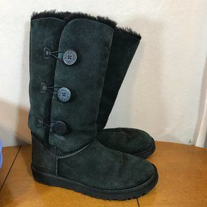 Women's Size 10 Black Uggs Boots